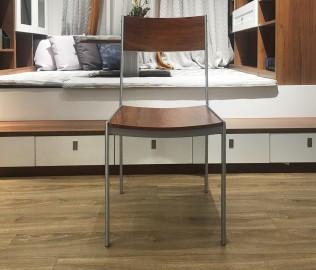 意风家具,餐椅,靠背椅