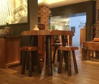 北欧艺家,木茶凳,客厅家具