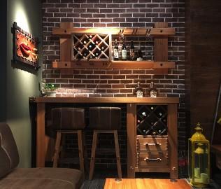 北欧艺家,实木家具,吧台