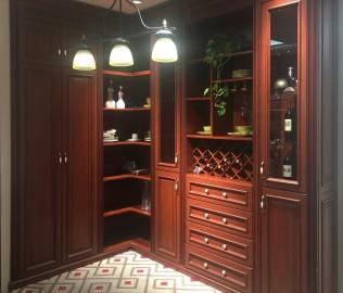意风家具,酒柜,板式家具