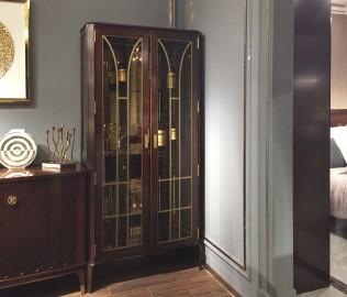 双门酒柜,酒柜,玻璃酒柜