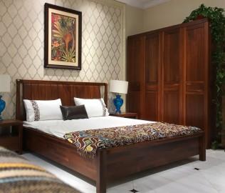 莫霞,实木家具,床