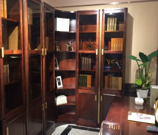 长实,书柜,实木家具