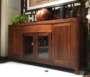 莫霞,实木家具,餐具柜