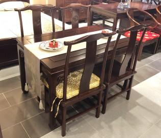兰鼎犀,餐台,实木家具