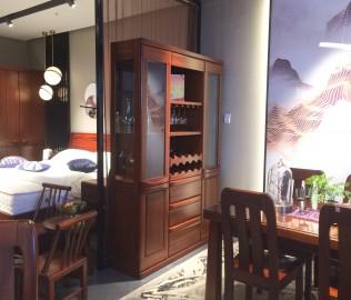 意风家具,酒柜,实木家具