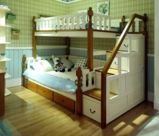 床,双层床,儿童家具