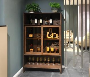 华鹤家具,酒柜,实木酒柜