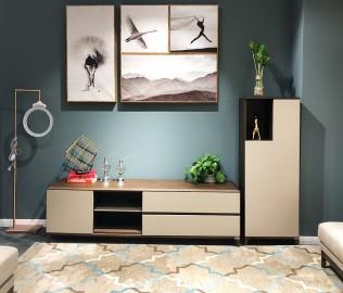 华鹤家具,装饰柜,客厅柜