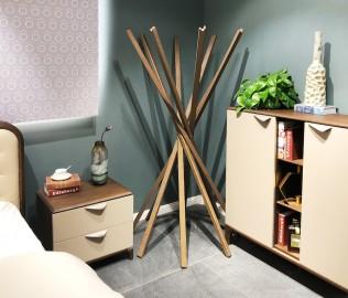 华鹤家具,挂衣架,实木家具