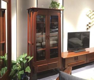 意风家具,酒柜,玻璃酒柜