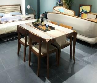 华鹤家具,餐台,实木家具