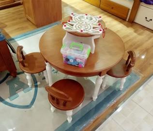 桌子,儿童,分享桌
