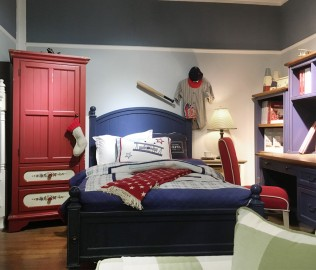 比邻乡村,单人床,卧室家具