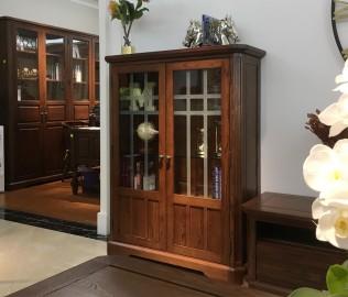百强,实木家具,饰品柜