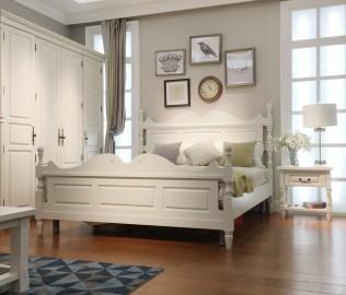 百强,双人床,卧室家具