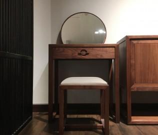 祥华坊,实木家具,梳妆凳