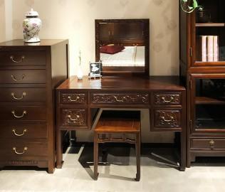 誉承堂,妆凳,实木家具