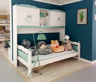 床,书柜,儿童