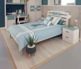 床,床架,单人床