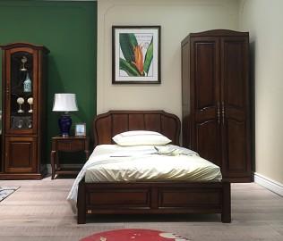 天坛家具,单人床,卧室家具