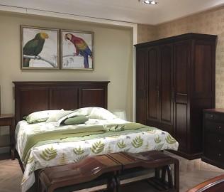 天坛家具,四门衣柜,卧室家具