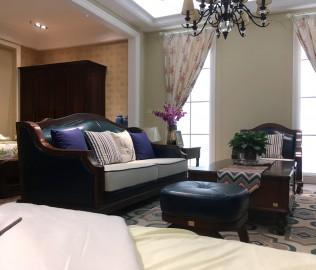 天坛家具,三位沙发,客厅家具
