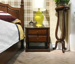 天坛家具,床头柜,卧室家具