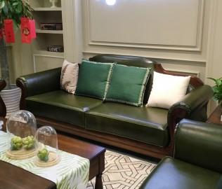 天坛家具,三人沙发,客厅家具