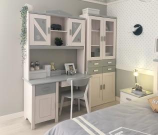 书架,书桌,上架