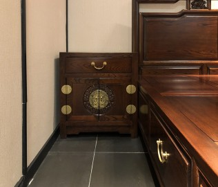 易红堂,床头柜,中式古典
