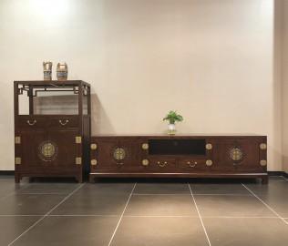 易红堂,电视柜,中式古典
