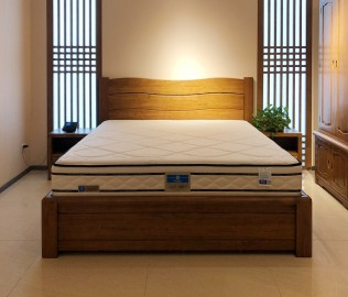 强力,气动杆床,双人床