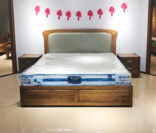 强力,床,双人床