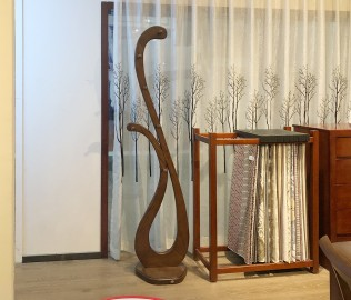 华日家具,衣架,现代中式