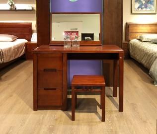 华日家具,梳妆凳,现代中式