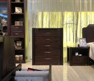华日家具,屉柜,现代中式