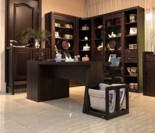 华日家居,字台,书房家具