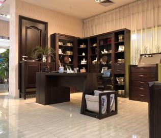 华日家具,现代中式,书柜