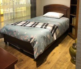 天坛家具,单人床,现代中式