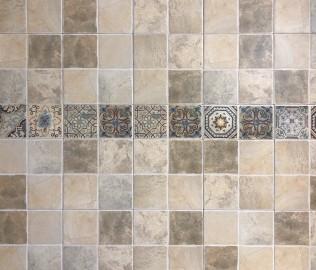 罗马利奥,瓷砖,腰线