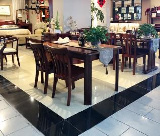 天坛家具,餐桌,现代中式