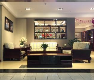 天坛家具,单人沙发,现代中式