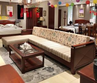 天坛家具,躺位沙发,现代中式