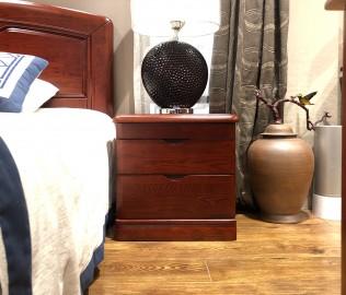 天坛家具,床头柜,现代中式