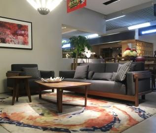 百强,三人沙发,客厅家具