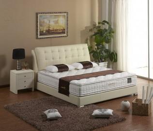 贝汀斯,牛皮床,双人床