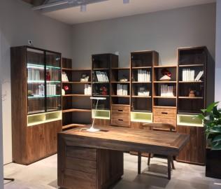 百强,组合书柜,书房家具