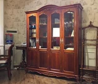 晓月蕾曼,四门书柜,书房家具