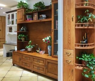 富莱德,实木柜,客厅柜